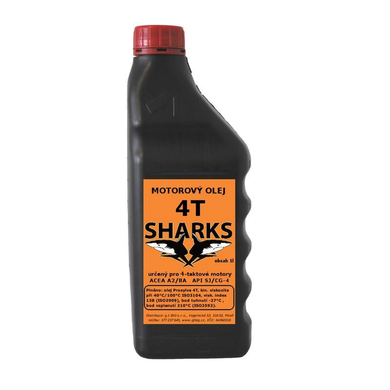 Sharks 4T – čtyřtaktní olej