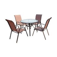 SET zahradního nábytku Jasin - Bronz Design