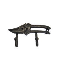 Kovový věšák - háček Nůžky